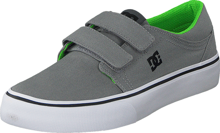 DC Shoes Dc Kids Trase V Shoe Grey/Black/Green