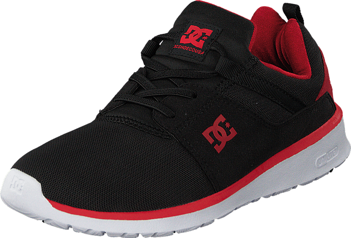 DC Shoes - Dc Kids Heathrow Shoe Black/Red
