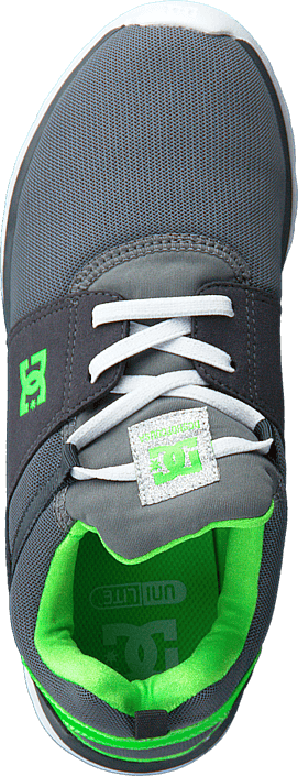 DC Shoes - Dc Kids Heathrow Shoe Grey/White/Green