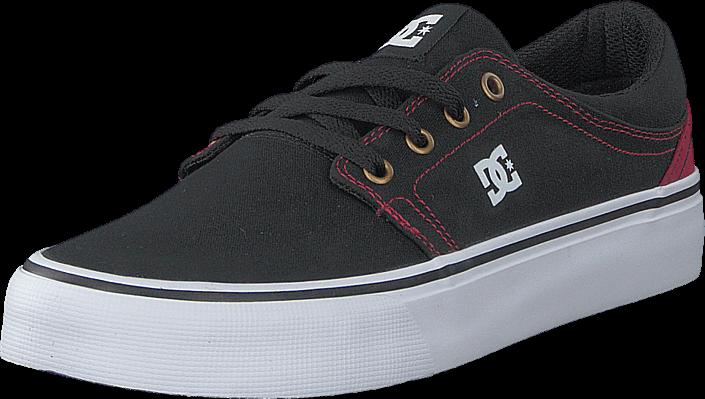 dc-shoes-dc-trase-tx-shoe-blackred-kengaet-sneakerit-ja-urheilukengaet-varrettomat-tennarit-musta-miehet-40