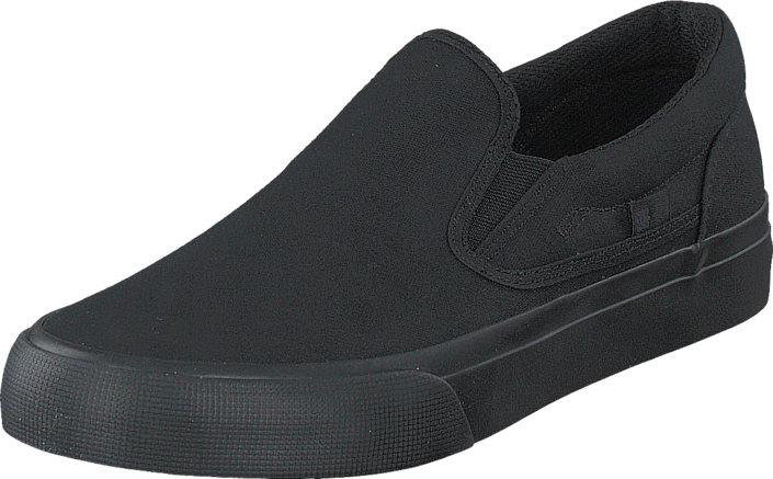 DC Shoes - Dc Trase Slip-On Tx Shoe Black 3