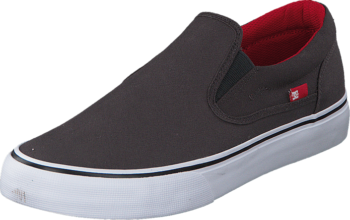 DC Shoes Dc Trase Slip-On Tx Shoe Grey/Black/Red