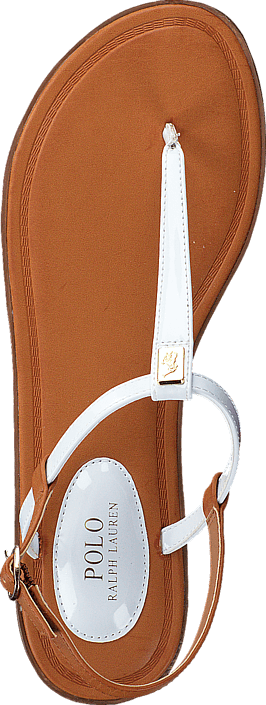Ralph Lauren Junior - Gala White Patent - Gold