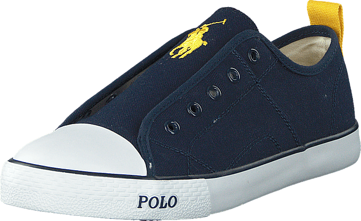 Ralph Lauren Junior - Raymond Slip On Jr Navy Canvas