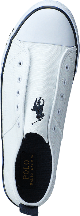 Ralph Lauren Junior - Raymond Slip On Jr Bright White Canvas
