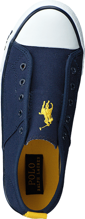 Ralph Lauren Junior - Raymond Slip On Kids Navy Canvas