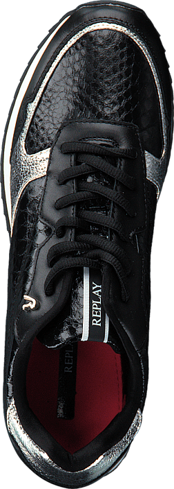 Replay - Whitfeild Black/Silver