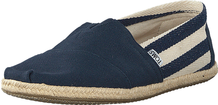 Toms - Men's Classic Stripe University Navy