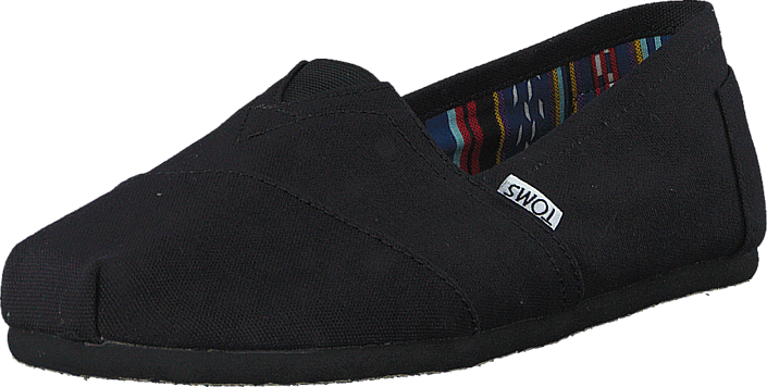 Toms - Men's Classic Black on Black