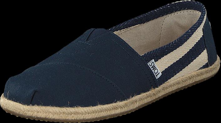 toms-women-classic-stripe-university-navy-kengaet-matalapohjaiset-kengaet-slip-on-sininen-naiset-37