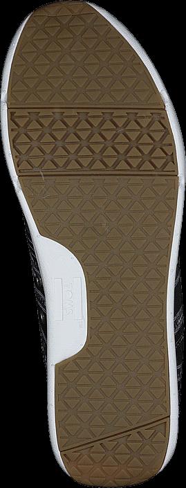 Toms - Women's Del Rey Sneaker Cultural Woven Black/White