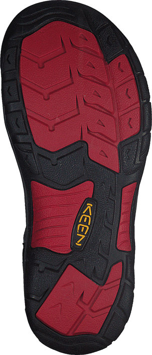 Keen - Newport H2-Jr Black/Racing Red Multi