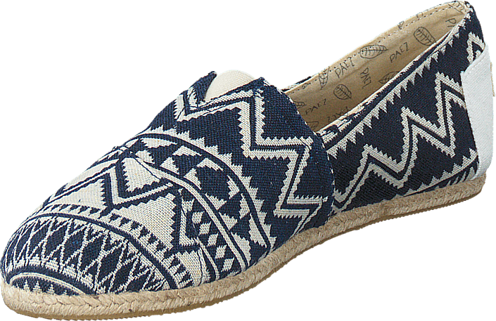 Paez Raw Ethnic Blue