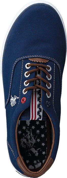 U.S. Polo Assn - Dalan 6 Canvas Dark Blue