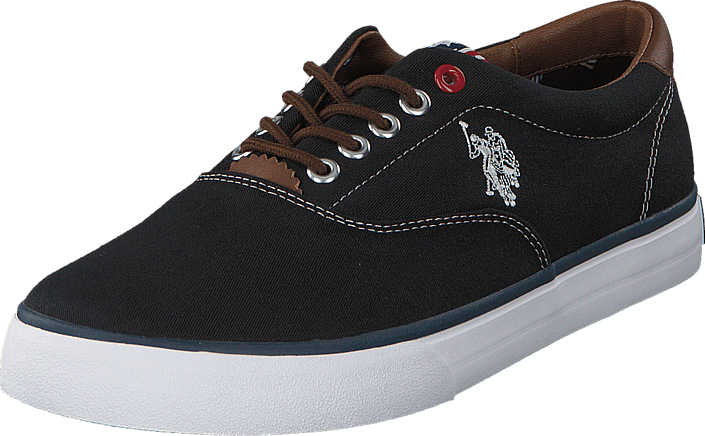 U.S. Polo Assn Dalan 6 Canvas Black