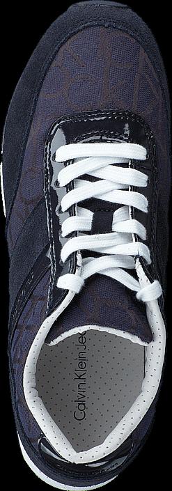 Calvin Klein Jeans - TEA CK LOGO JACQUARD/PATENT BBM