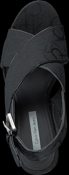 Calvin Klein Jeans - ELAINE CK LOGO JACQUARD/PATENT BBK