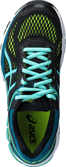Asics - GT 1000 4 Black/Pool Blue/Yellow
