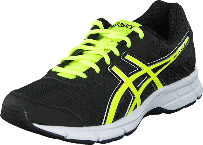 Asics - Gel Galaxy 8 Gs Black/Flash Yellow/White
