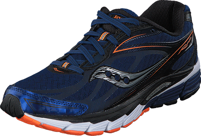 Saucony - Ride 8 Midnight/Black/Orange