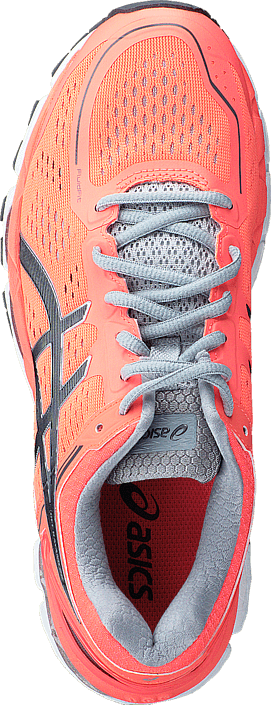 Asics - T597N 0697 Gel Kayano 22 Flashcoral/Carbon/Silvergrey