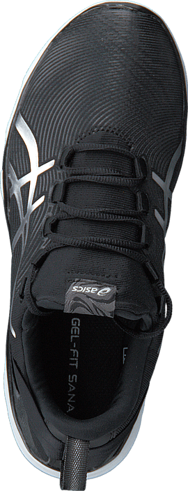 Asics - S561N 9093 Gel Fit Sana 2 Black/Silver/White