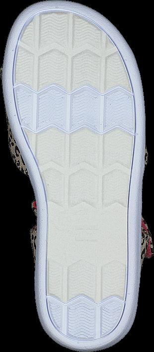 Toms - Strappy Sandal Cheetah Metallic Linen