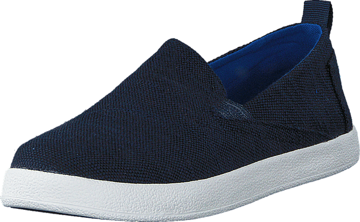 Toms - Avlon Slip-On Jr Navy Slubby Linen