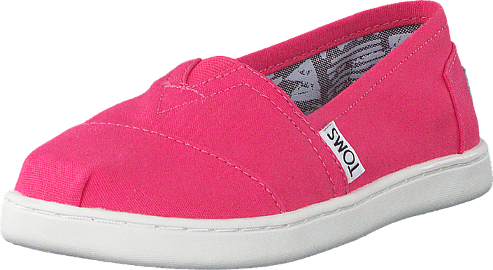 Toms - Seasonal Classics Jr Barberry Pink