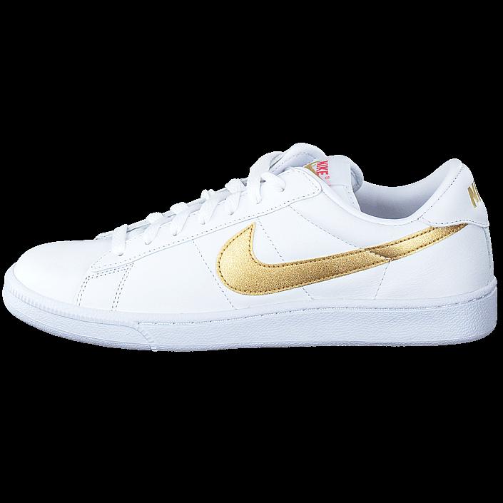 huge selection of 04e6a eae77 Köp Nike Wmns Tennis Classic White  Metallic Gold vita Skor Online   BRANDOS.se
