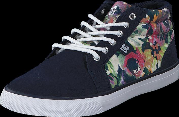 DC Shoes Council Mid SE Navy (Flowers)