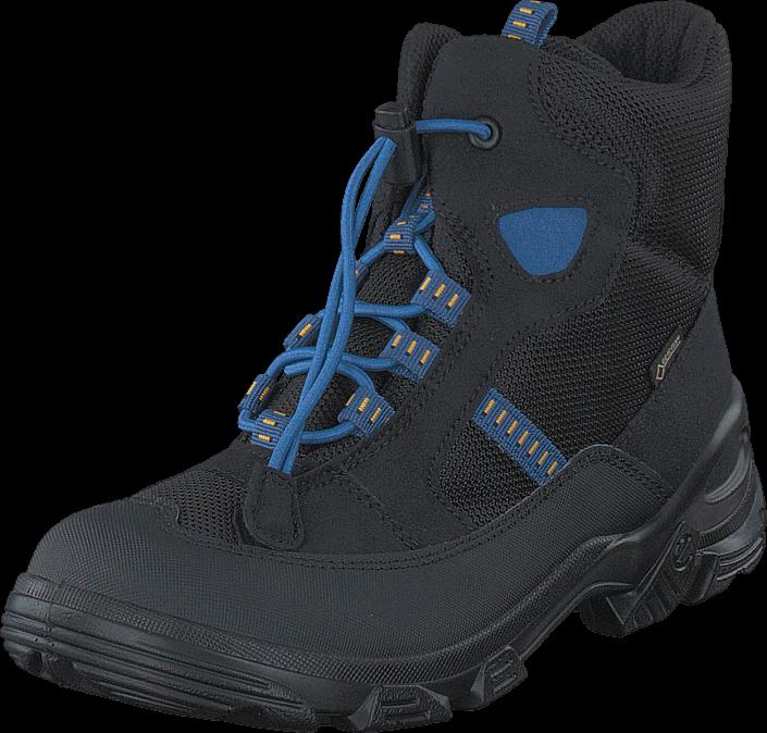 Ecco - 721232 Snowboarder Black/Black/Cobalt