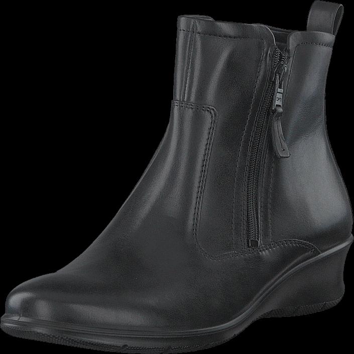 Ecco 217143 Felicia Black, Schuhe, Stiefel & Stiefeletten, Hohe Stiefeletten, Grau, Female, 35