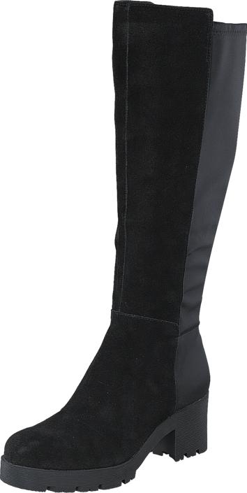 Bianco - Chunky Long Boot JJA16 Black