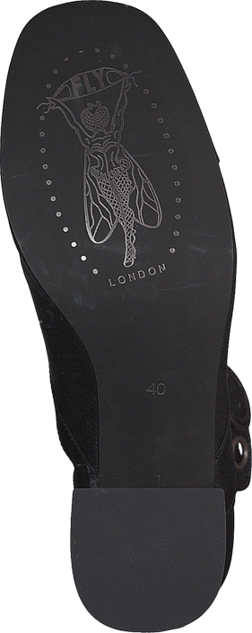 Fly London - TABI786FLY MOUSSE BLACK