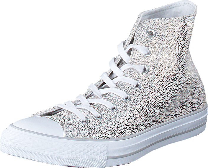 Converse - All Star Sting Ray Metallic-Hi Pure Silver/Black/White