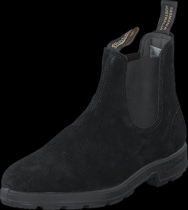 Blundstone - 1455 Black Suede Black