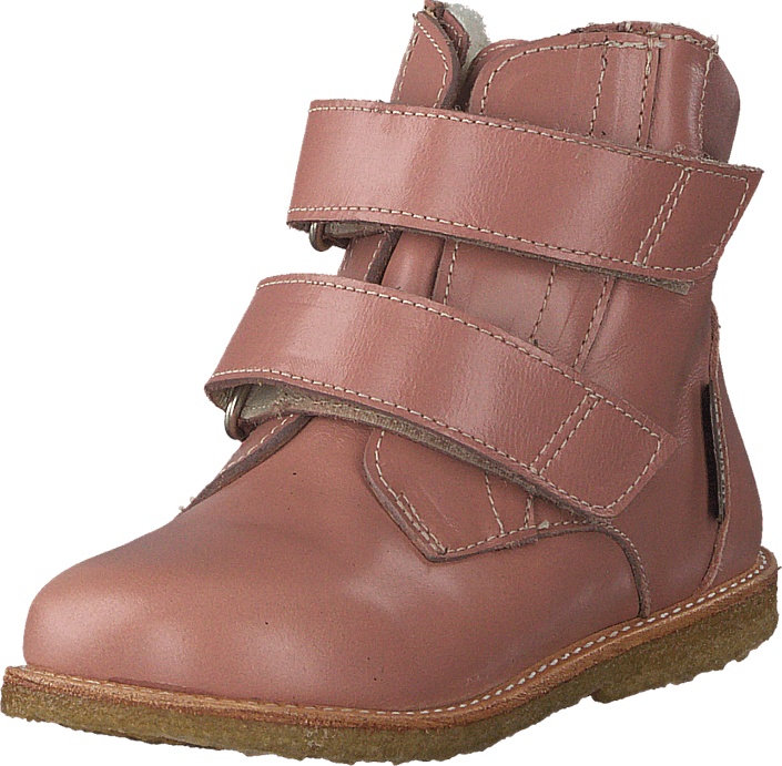 Angulus - First Tex boot with velcro Powder/Old Rose