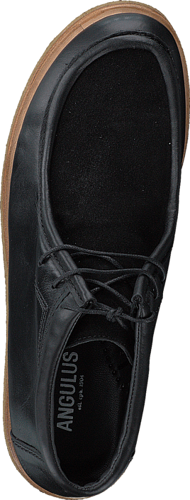 Angulus - Shoe w. laces Black