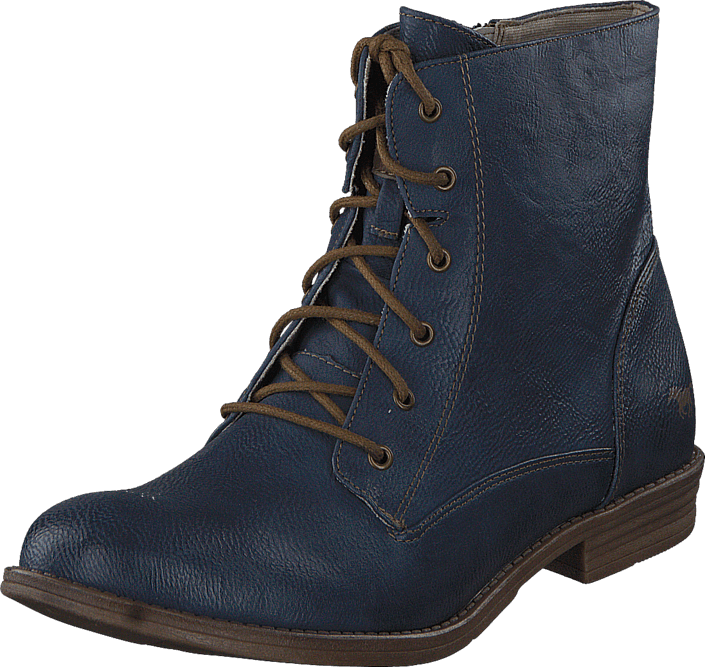 Mustang - 1157534 Women's Lace-Up Bootie Dark Blue