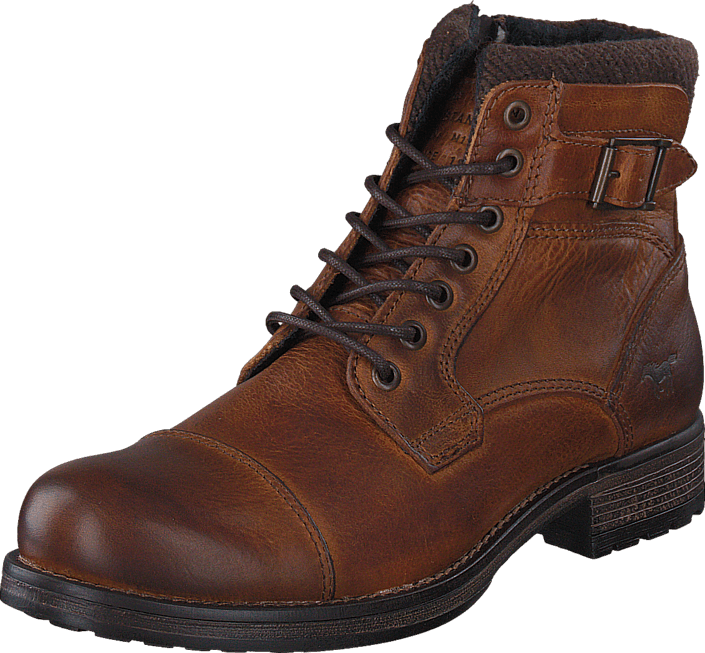 Mustang 4865506 Men's Ancle Boot Chestnut