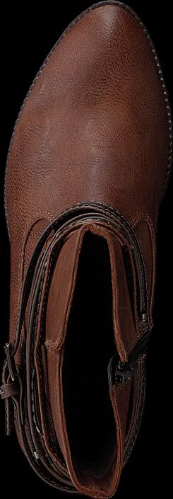 Mustang - 1230502 Women's Bootie Chestnut