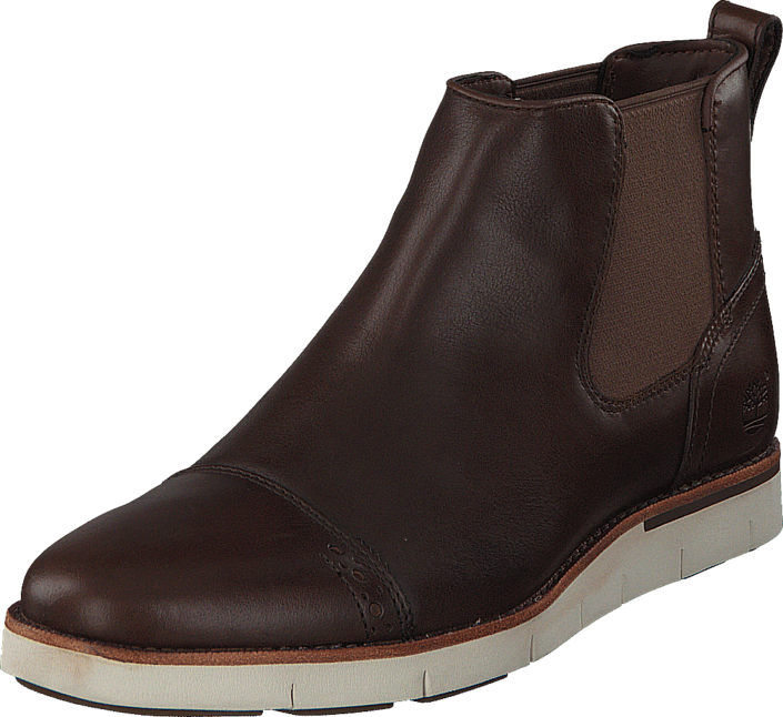 Timberland Preston Hills Chelsea Medium Brown Full-Grain