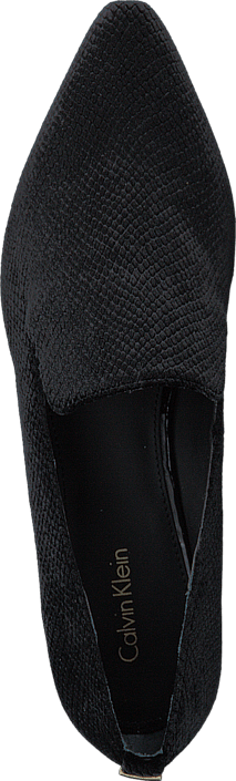 Calvin Klein - Elin Velvet Snake Print Black