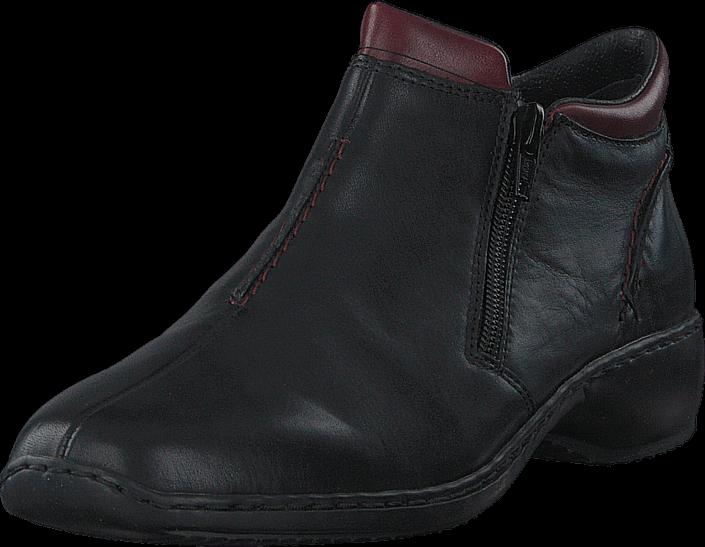 Footway SE - Rieker L3882-00 Black, Skor, Kängor & Boots, Chukka boots, Svart, Dam, 40 647.00