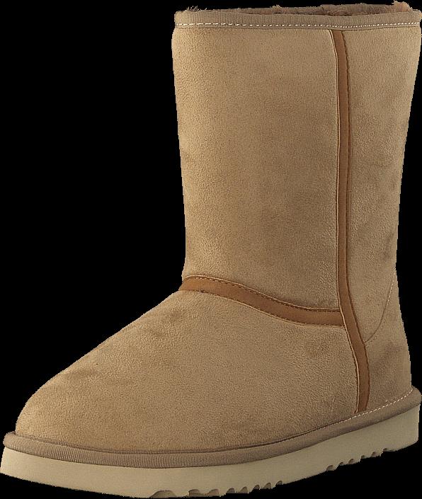 k b esprit uma boot 270 beige brune sko online. Black Bedroom Furniture Sets. Home Design Ideas
