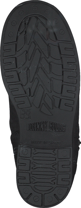 Johnny Bulls - 250 Mid Zip Side Black Old Silver