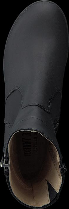 Johnny Bulls - 5066 Mid Platform Boot Black Old Silver