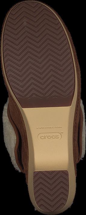 Crocs - Crocs Sarah Luxe Lined Clog Hazelnut