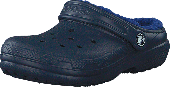 Crocs Classic Lined Clog K Navy/Cerulean Blue